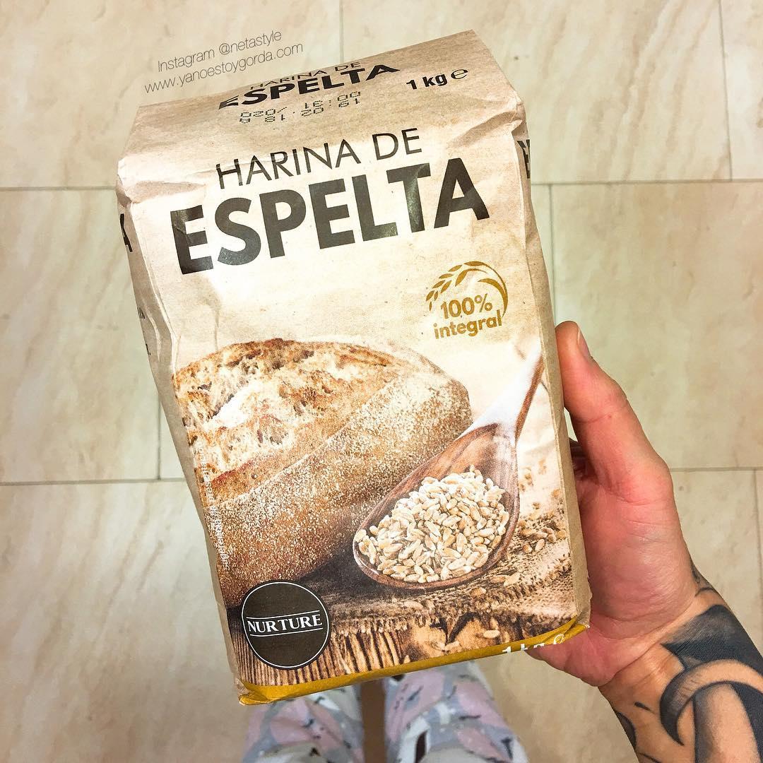 Harina de espelta 100 integral de mercadona - Harina integral de trigo ...