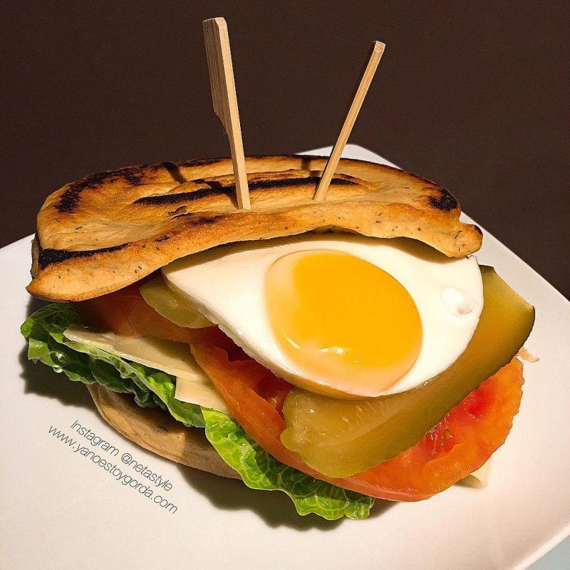 "Pan de salmón ""fit"""