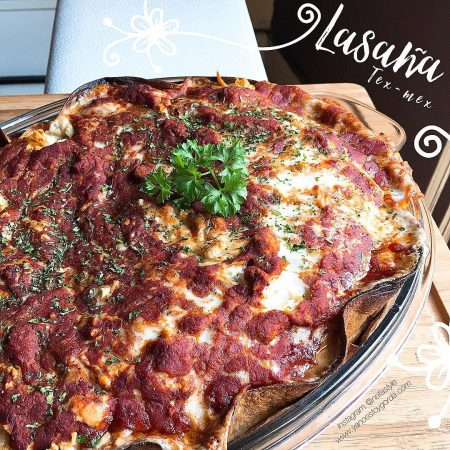 RECETA FITNESS: Lasaña Tex-Mex saludable de chile con carne