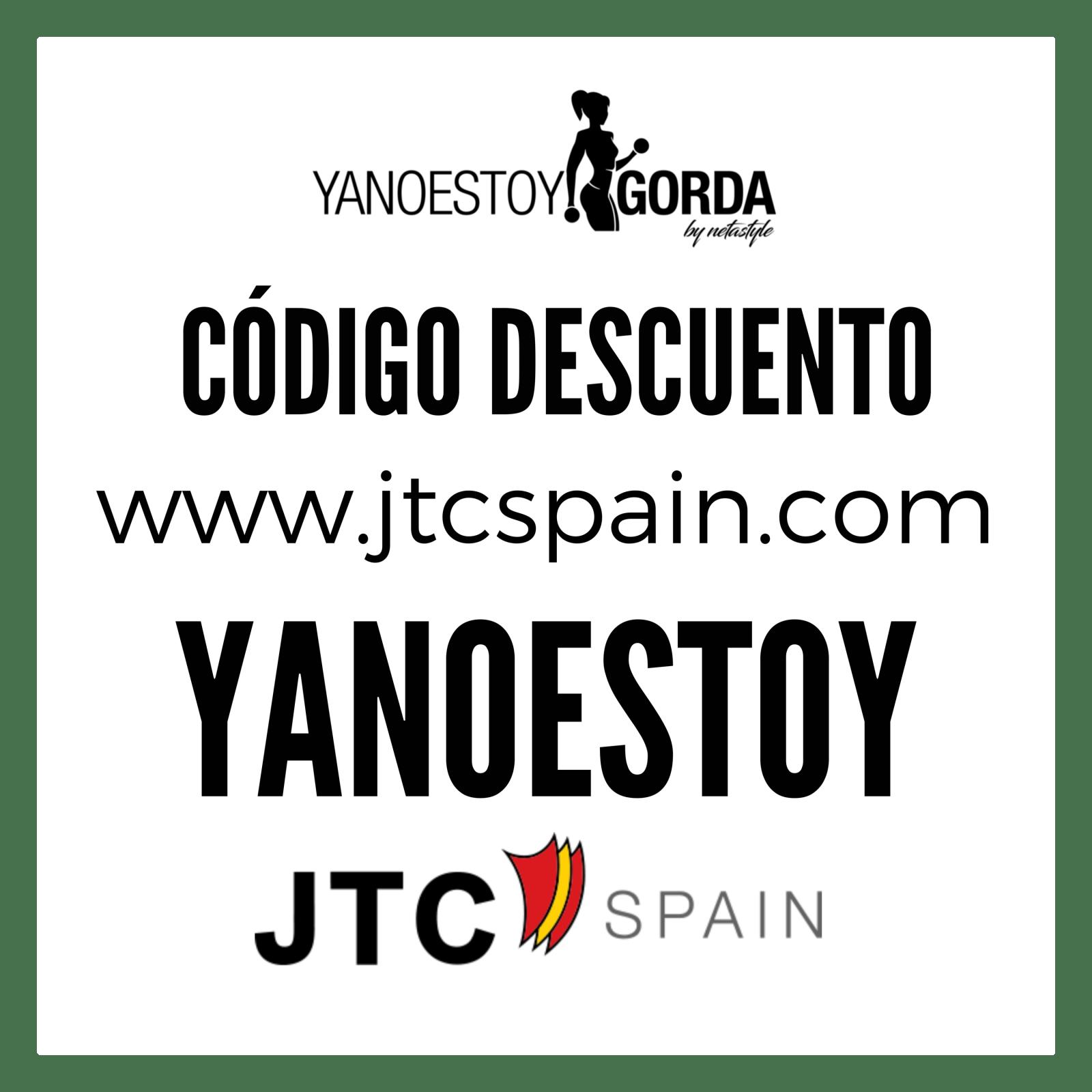 código descuento en JTC SPAIN