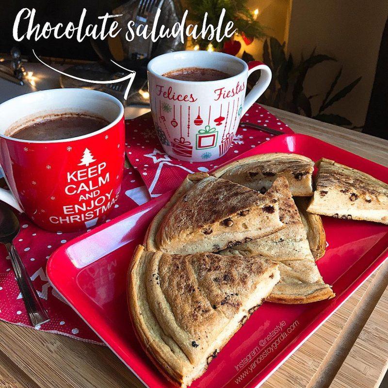 RECETA FITNESS: Chocolate a la taza