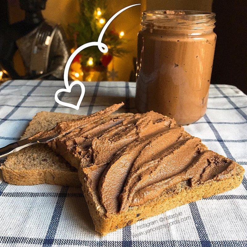 RECETA FITNESS: Crema de avellanas y chocolate con leche