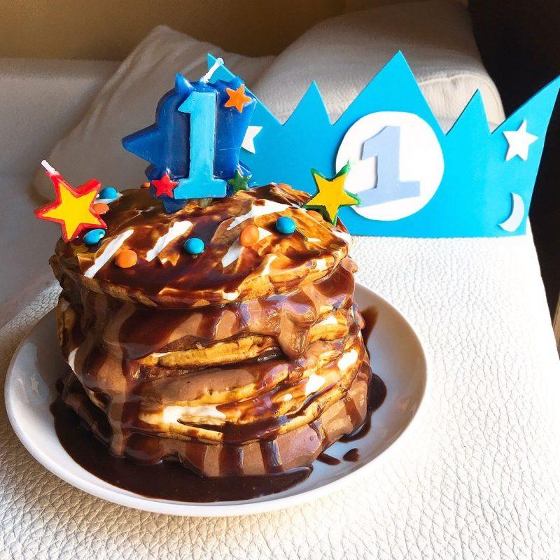 Primer pastel de cumpleaños de mi bebé