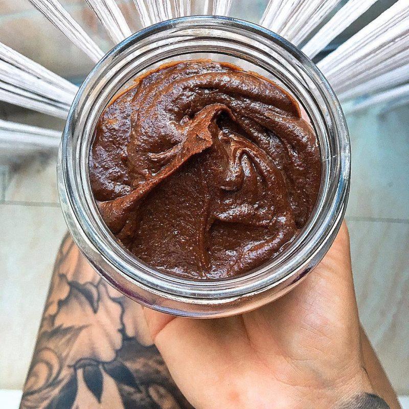 Crema de cacao y avellanas saludable (Rawtella)
