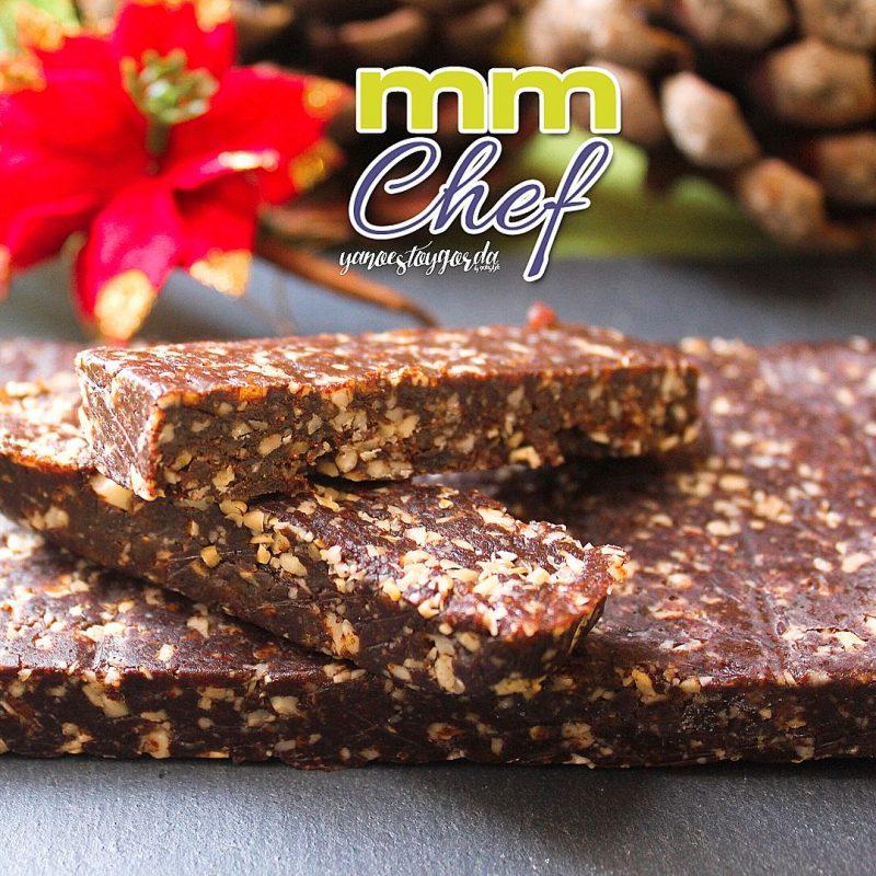 Turrón de dátiles, cacao y anacardos (Receta Navidad)