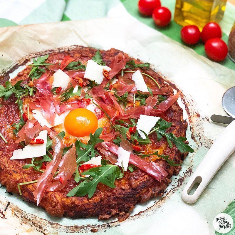 Masa de pizza de espelta integral casera
