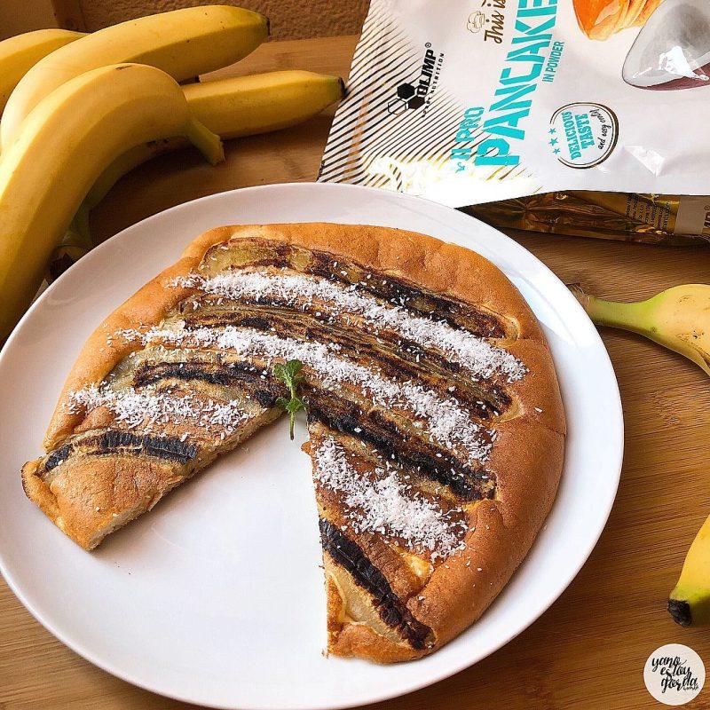 Maxi tortita de coco y plátano