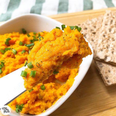Paté de zanahorias (vegetariano)